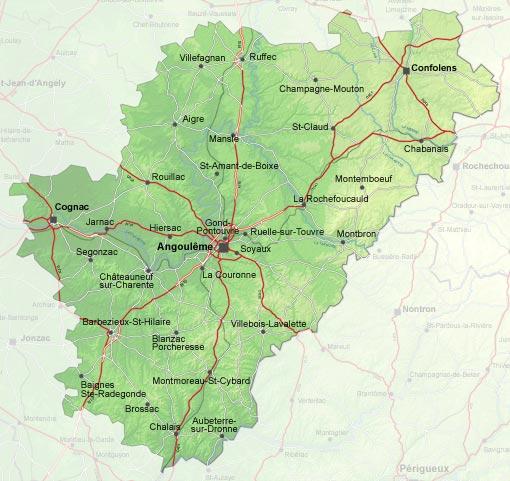 Charente vtt for Plan angouleme 16